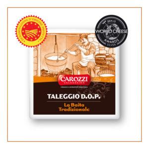 taleggio dop la baita tradizionale