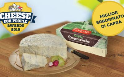 Dolce Capriziola diventa un formaggio premiato (da voi!)