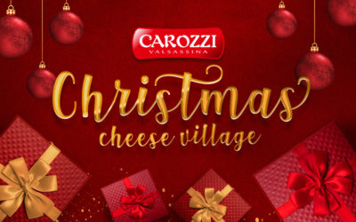 Il Christmas Cheese Village in Formaggeria