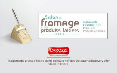 Carozzi al Salon Du Fromage di Parigi